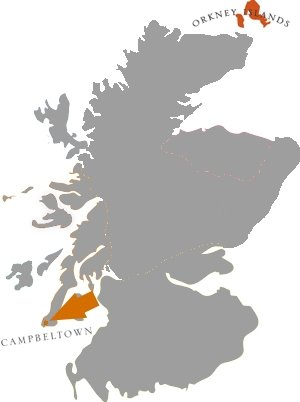 Whiskyregionen: Campbeltown