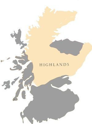 Whiskyregionen: Highlands